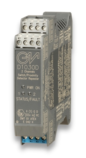 D1030D - Switch/Proximity Detector Repeater Relay Output