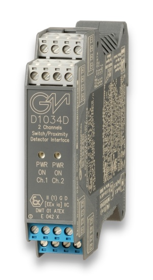 D1034D - SIL 3 Switch/Proximity Detector Interface