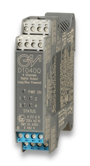 D1040Q - SIL 3/SIL 2 Digital Output Loop/Bus Powered