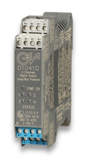 D1041Q - SIL 3/SIL 2 Digital Output Loop/Bus Powered
