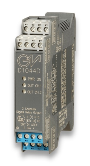 D1044D - SIL 2/SIL 3 Digital Relay Output Loop/Bus Powered