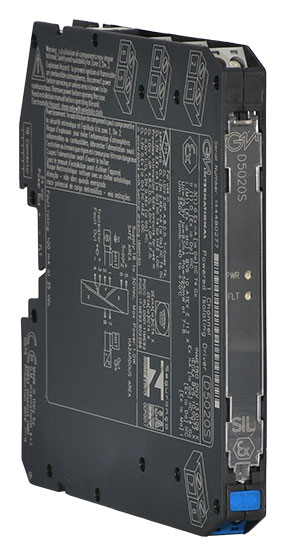 D5020S - SIL 2 Powered Isolating Driver Hart Compatible