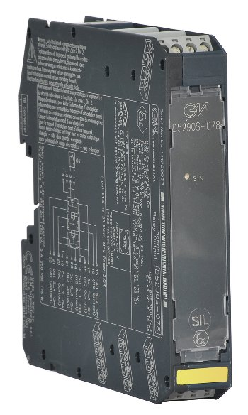 D5290S-078 - 5 A SIL 3 Relay Output Module for NE or ND Loads with NE or ND Relay condition