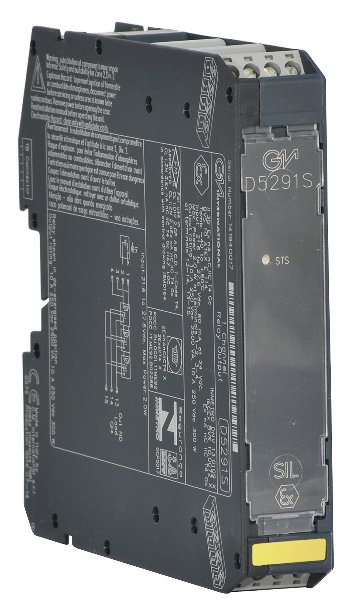 D5291S - 10 A SIL 3 Relay Output Module for ND Load with ND or NE Relay condition