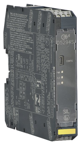 D5294S - 4 A SIL 3 NO contact Relay Out Module for NE or F&G/ND Load with open/short circuit diagnostic