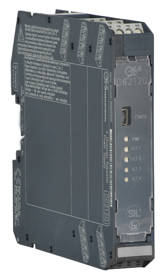 D6212Q - SIL 2 Quadruple Repeater Power Supply
